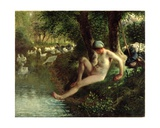The Bather  1863