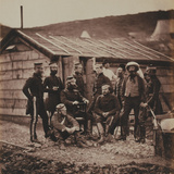 Officers of the 4th (The Queen's Own) Regiment of Light Dragoons  from an Album of 52 Photographs…