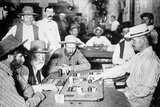 Playing Faro in a Saloon at Morenci  Arizona Territory  1895