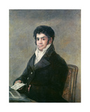 Portrait of Don Francisco Del Mazo  C1815