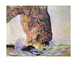The Cliff at Etretat (La Manneporte) C1883