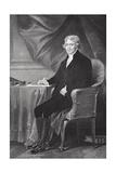 Portrait of Thomas Jefferson (1743-1826)