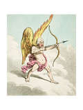 Cupid  from the New Pantheon No4  Published by Hannah Humphrey  1799