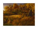 Scene at Underriver  Kent or the Hop Garden