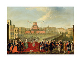 Fete at Naples on the Occasion of the Marriage of King Ferdinand I (1751-1825) to the Archduchess…