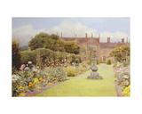 The Grass Walk  Helmingham Hall  1892