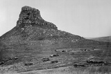 Isandhlwana across the Nek  from an Album of 43 Photographs Compiled by George Froom of the 94th…