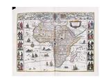 Africae Nova Descriptio  from 'J Blaeus Grooten Atlas  Oft Werelt-Beschryving'