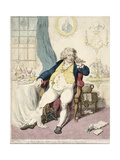 A Voluptuary under the Horrors of Digestion  Published by Hannah Humphrey in 1792