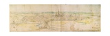 Panoramic View of S'Hertogenbosch  C1545-50