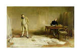 St Helena 1816: Napoleon Dictating to Count Las Cases the Account of His Campaigns