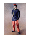 A Soldier  1881