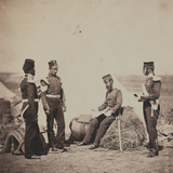 Captain Mark Walker  30th (The Cambridgeshire) Regiment of Foot  Reading General Orders  from an…
