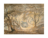 Woodland Scene with Figures  C1798