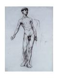Nude Young Man