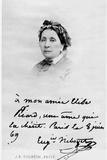 Eugenie Mouchon Niboyet (1799-1882) 8th June 1869