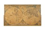 'Nova Totius Terrarum Orbis Tabula' (World Map) C1655-58