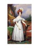 Adele De Guerneval D'Esquebecq  Marquise De Bethisy  1835