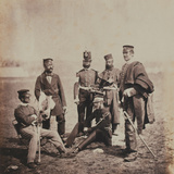Brigadier General Charles Thomas Van Straubenzee (1812-92) and Officers of the Buffs  from an…