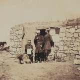 Officers on the Staff of Lieutenant-General Sir Richard England  from an Album of 52 Photographs…
