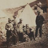 Officers of the 71st (Highland) Regiment of Foot (Light Infantry) from an Album of 52 Photographs…