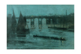 Nocturne  Old Battersea Bridge  1885