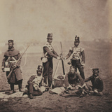 Officers and Men of the 3rd (East Kent) Regiment of Foot (The Buffs) from an Album of 52…