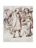 A Group of Churchmen and Politicians Including John Keble (1792-1866) and William Gladstone…