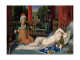 Odalisque with Slave  1842
