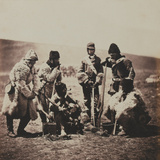 Captain Pechell and Men of the 77th (East Middlesex) Regiment of Foot in Winter Dress  from an…