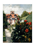 The Dahlias  Garden at Petit Gennevilliers  1893