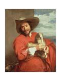 Portrait of Francois Langlois (1589-1647) C1637