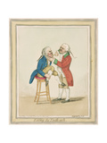 Easing the Tooth-Ach  Published by Hannah Humphrey  1796