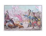 Exit Liberte a La Francois! or Buonaparte Closing the Farce of Egalite at St Cloud Near Paris …