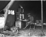 Doctor in an American Hospital Tent  C1915