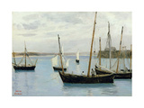 Granville  Fishing Boats  C1860