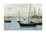 Granville  Fishing Boats  C1860
