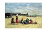 Berck  Fisherwomen on the Beach  1876