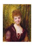 Melanie De Bussiere  Countess of Pourtales  1897