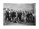 Survivors of the 13th Regiment of Light Dragoons after the Battle of Balaklava  1854  1855