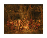 Herne's Oak from 'The Merry Wives of Windsor' by William Shakespeare (1564-1616)  C1857
