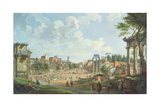 View of the Roman Forum  1747