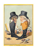 A Pair of Polished Gentlemen  Published by Hannah Humphrey in 1801