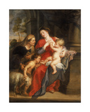 The Virgin and Child with St Elizabeth and the Child Baptist  C1630-35