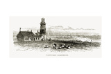 Nantucket Lighthouse  Massachusetts  C1870  from 'American Pictures'  Published by the Religious…