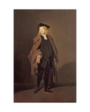 Portrait of John Moody (C1712-1821) as Father Foigard in the Beaux Stratagem  by George Farquhar…