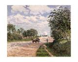 The Road to Nantes at Choisy Le Roy  1874