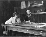 Colette (1873-1954) and Willy (1859-1931)