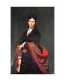 Portrait of Mrs Marie Clerc  1874