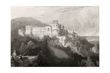 Heidleberg Castle  Heidleberg  Engraved by JTWillmore in 'The Pilgrims of the Rhine'  Published…
